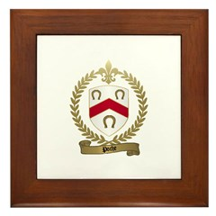 POCHE Family Crest Framed Tile