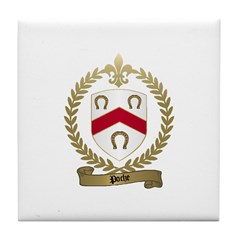 POCHE Family Crest Tile Coaster