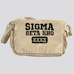 Sigma Beta Rho Athletics Personalize Messenger Bag