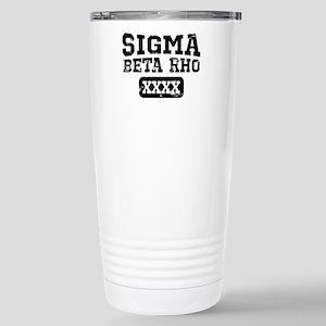 Sigma Beta Rho At 16 oz Stainless Steel Travel Mug
