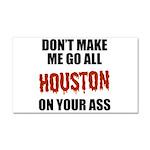 Houston Baseball Car Magnet 20 x 12
