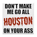 Houston Baseball Tile Coaster