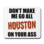 Houston Baseball Mousepad