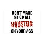 Houston Baseball 38.5 x 24.5 Wall Peel
