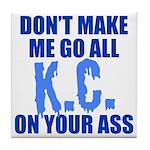 Kansas City Baseball Tile Coaster