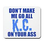 Kansas City Baseball Mousepad