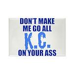 Kansas City Baseball Rectangle Magnet