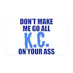 Kansas City Baseball 38.5 x 24.5 Wall Peel