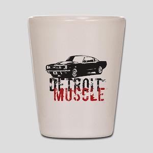 Detroit Muscle Shot Glass