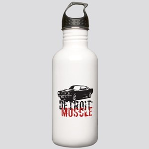 Detroit Muscle Stainless Water Bottle 1.0L