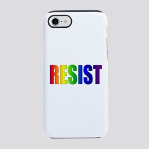 Rainbow Resist Trump iPhone 7 Tough Case