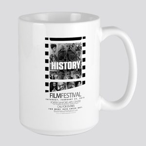 The Black History Film Festiv Large Mug