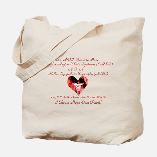 CRPS RSD I Choose Hope Over P Tote Bag