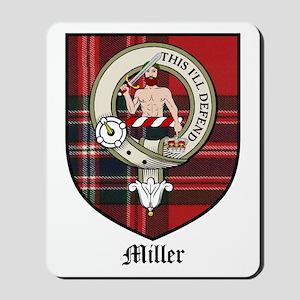Miller Clan Crest Tartan Mousepad
