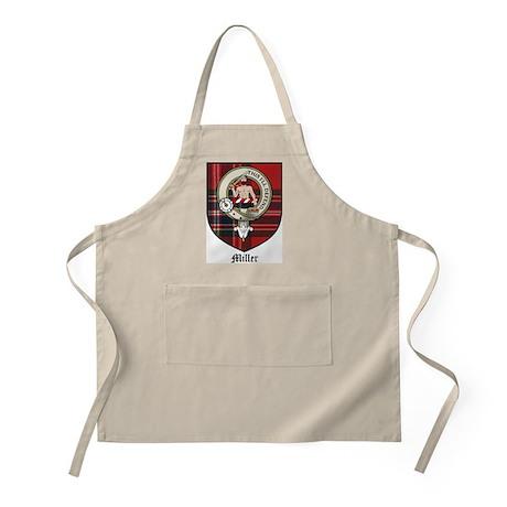 Miller Clan Crest Tartan BBQ Apron