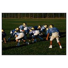 Junior Football Practice Poster