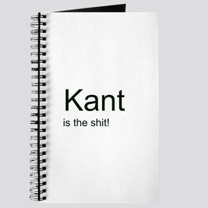"""""""Kant is the shit!"""" Journal"""
