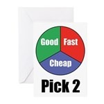 Good Fast Cheap Greeting Cards (Pk of 10)