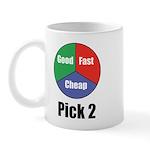 Good Fast Cheap Mug