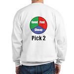Good Fast Cheap Sweatshirt