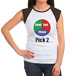 Good Fast Cheap Women's Cap Sleeve T-Shirt