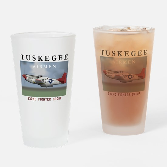 Cute Tuskegee airmen Drinking Glass