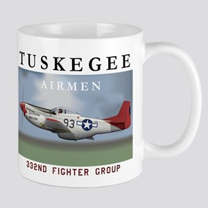 P51D 332nd FG Mugs