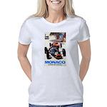 Monaco Grand Prix Auto Rac Women's Classic T-Shirt
