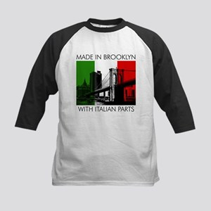 Made in Brooklyn with Italian Parts Kids Baseball