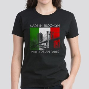 Made in Brooklyn with Italian Parts Women's Dark T
