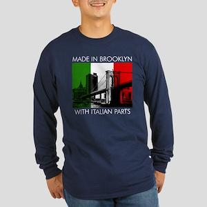 Made in Brooklyn with Italian Parts Long Sleeve Da