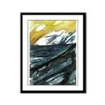 Hopping To It With Art Framed Panel Print