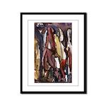 Lovely Ladies Art Framed Panel Print
