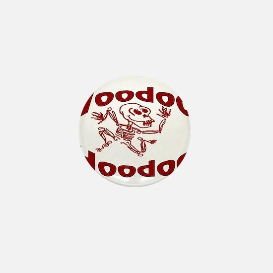 Voodoo Hoodoo Mini Button