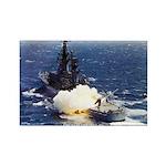 USS ENGLAND Rectangle Magnet