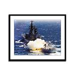 USS ENGLAND Framed Panel Print