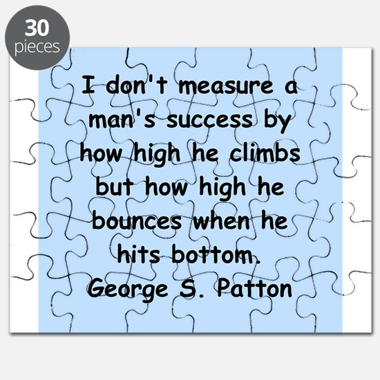 george s patton quotes Puzzle