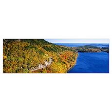 Mount Jordan Pond Acadia National Park ME Poster