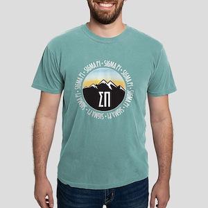 SP Mountain Sunset Mens Comfort Color T-Shirts