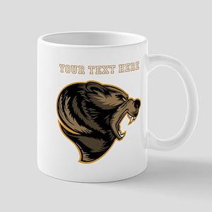 Bear. Add Your Text. Mug