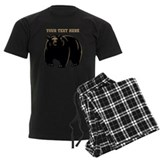 Bear Men's Dark Pajamas