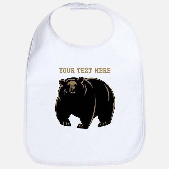 Big Bear with Custom Text. Bib