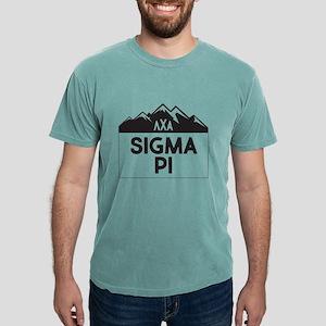 Sigma Pi Mountain Mens Comfort Color T-Shirts