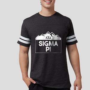 Sigma Pi Mountain Mens Football T-Shirts
