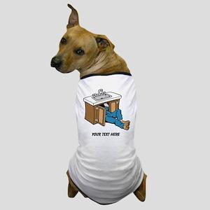Plumber. Custom Text. Dog T-Shirt