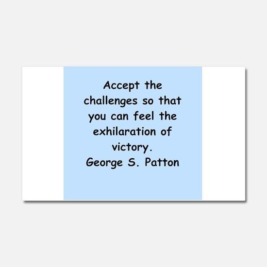 george s patton quotes Car Magnet 20 x 12