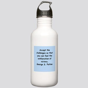 george s patton quotes Stainless Water Bottle 1.0L