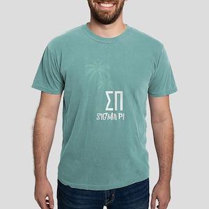Sigma Pi Palm Tree Mens Comfort Color T-Shirts
