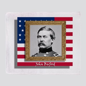 John Buford Throw Blanket