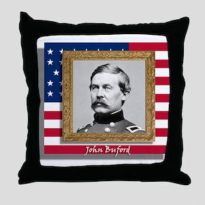 John Buford Throw Pillow